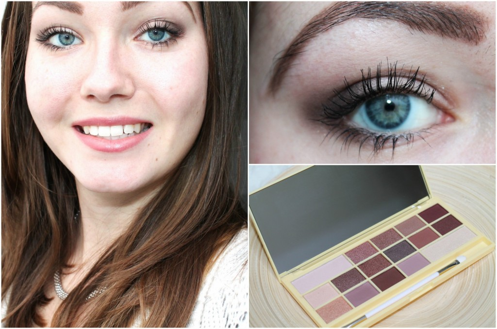 collage naked chocolate look
