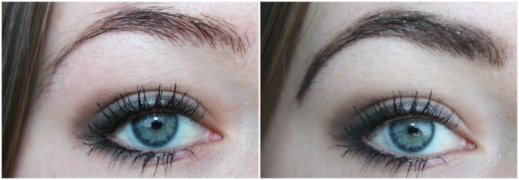 resultaat essence eyebrow gel