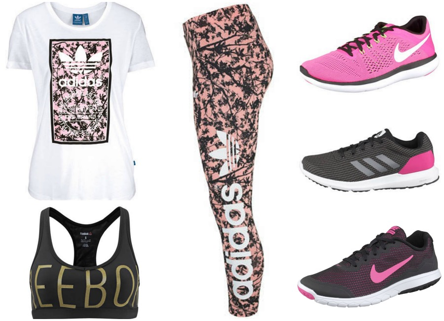 sportkleding collage